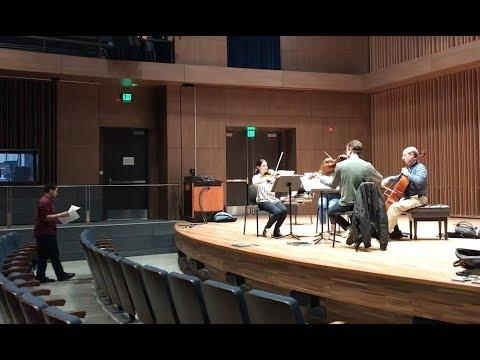 "Doctoral Music Composition/Theory|students ""Making New Music"""
